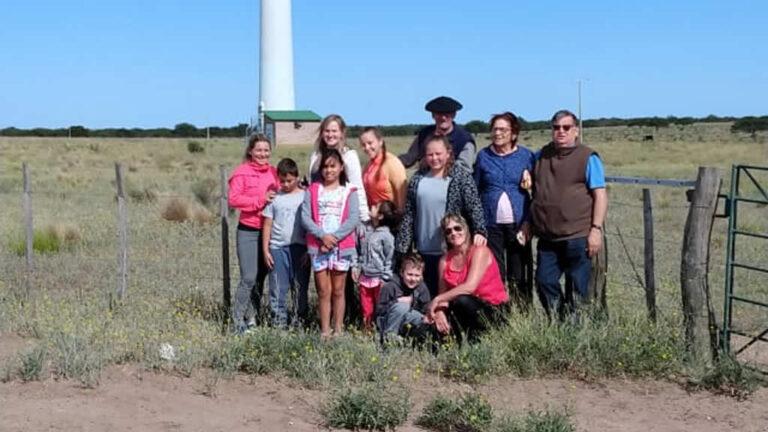 Visitas al parque eólico, desde Perú, La Pampa