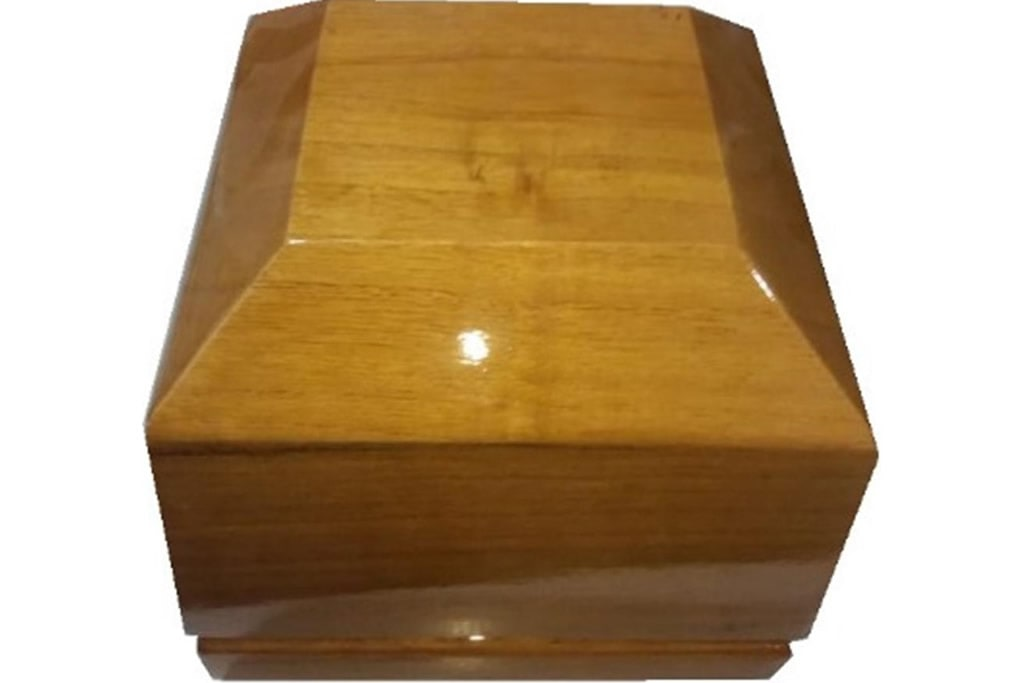 Urna para cremación Especial de cedro