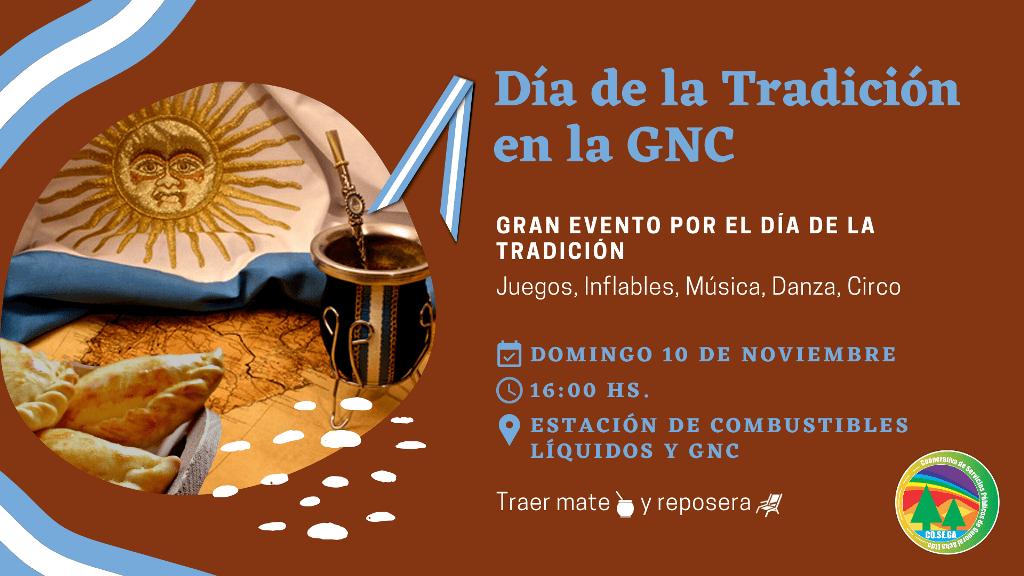 Evento Día de la tradición en la GNC