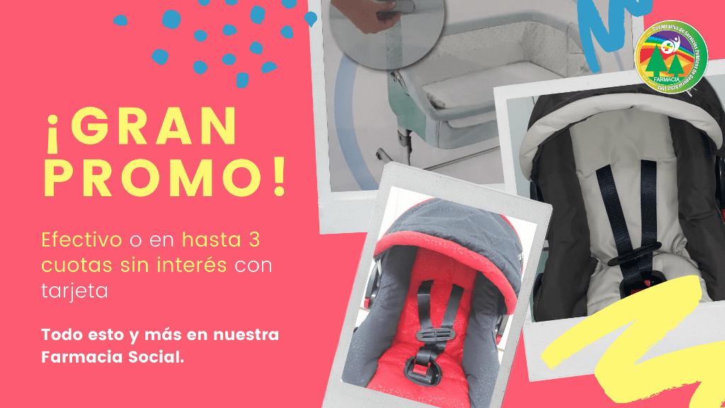 Promoción de accesorios para bebé en Farmacia Social