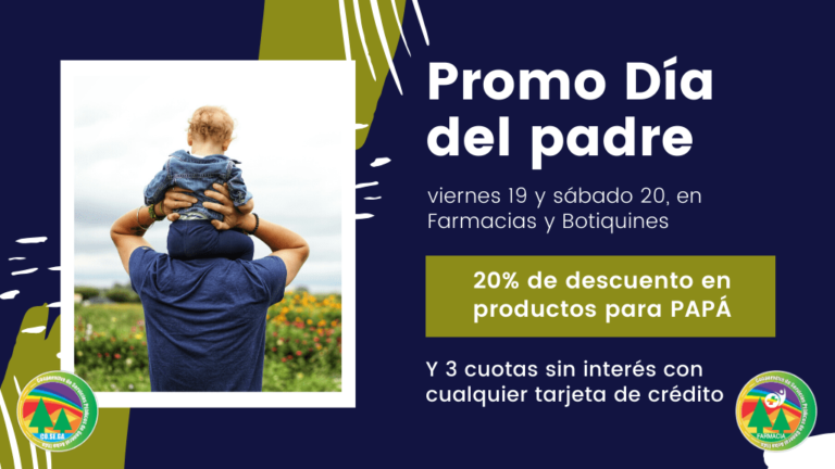 Promoción día del padre 2020