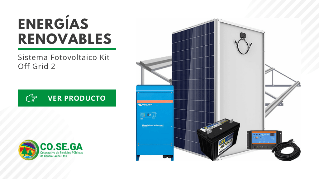 Sistema Fotovoltaico Kit Off Grid 2