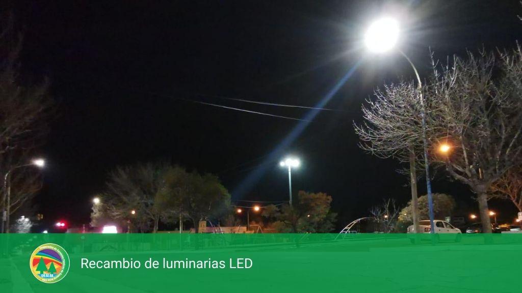 Recambio de luminarias LED