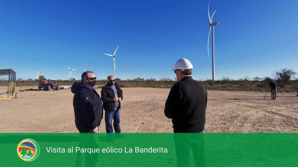 Visita al Parque eólico La Banderita