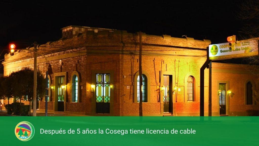 Después de 5 años la COSEGA tiene licencia de cable