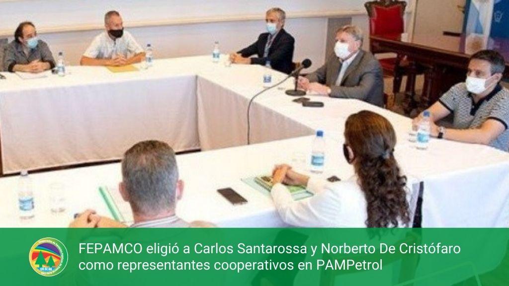 FEPAMCO eligió a Carlos Santarossa y Norberto De Cristófaro como representantes cooperativos en PAMPetrol
