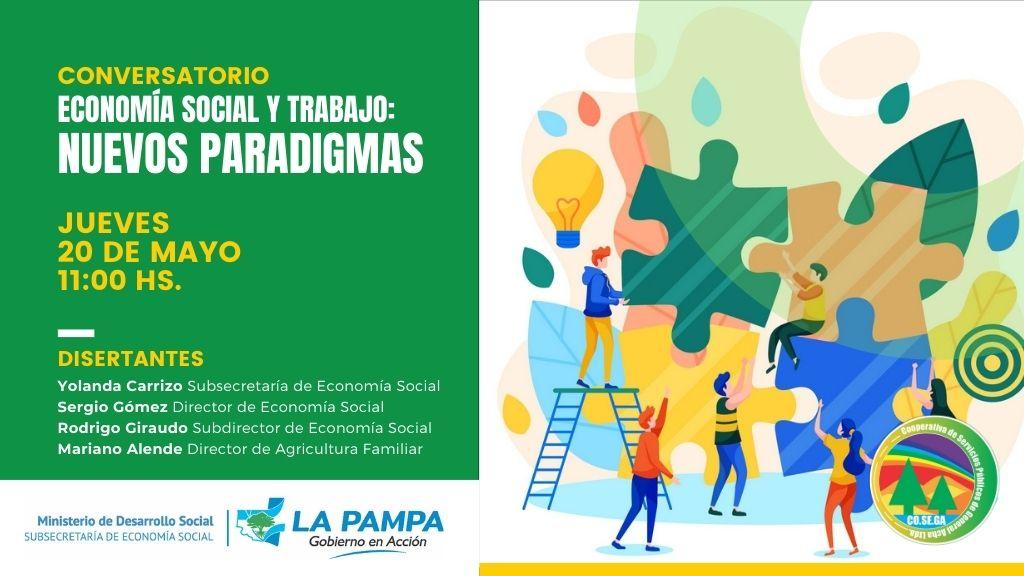 Conversatorio «Economía Social y Trabajo: Nuevos Paradigmas».