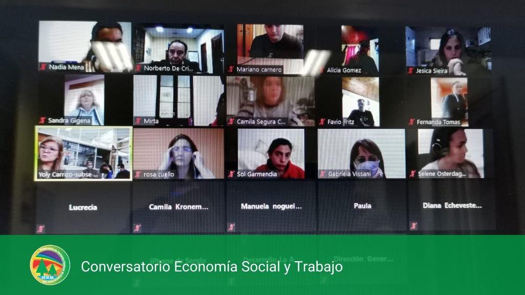 Conversatorio Economía Social y Trabajo.