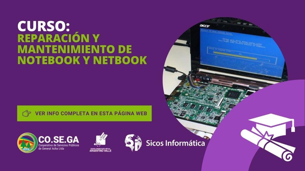 Curso de Reparación y Mantenimiento de Notebook y Netbook