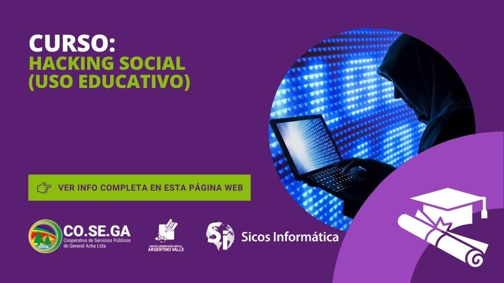 Curso de Hacking Social (Uso Educativo)
